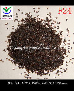 Brown Aluminum Oxide #24 Mesh for Abrasive Media pictures & photos