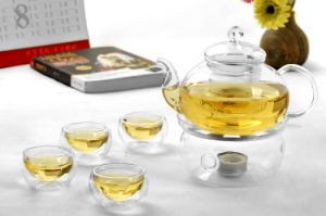 Borosilicate Tea Set, Glass Teapot, Heat Resistant Tea Mug pictures & photos
