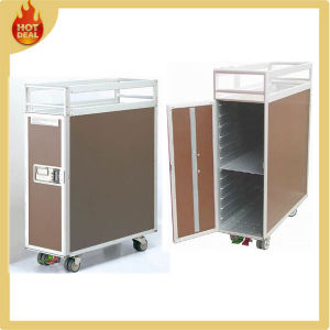 8 Wheels Aluminum Alloy Aircraft Water Service Trolley Cart pictures & photos
