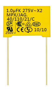 X2 Safety Standard Film Capacitor (CG-X2-1.0uF)