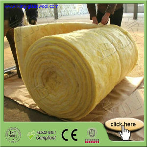 Perforated Aluminum Foil-Faced Glass Wool Blanket Exporter pictures & photos