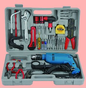Power Tool (Impact Drill Set, including Impact Drill, Ruler, Drill Bits, Gloves, Knife) pictures & photos