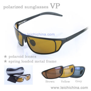 Fashion Polarized Sunglasses Metal Frame Sunglases pictures & photos