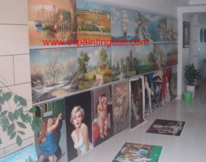 Oil Paintings On Canvas (T90)