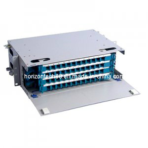 48 Fibers ODF 19′′ Rack Mount Distribution Box (ODF-B-48)