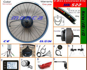 Electric Bike Conversion Kit with 250W Freewheel Hub Motor Kit Contained pictures & photos