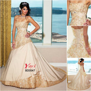 Bridal Wedding Dress, Beach Wedding Dress (BD0547)