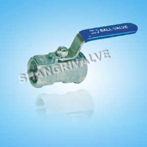 Threaded One Piece Type Ball Valve (Q11F)