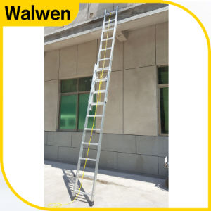 Single Square Tube Alumiunm Telescopic Rope Ladder pictures & photos