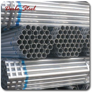 Carbon Hot Dipped Galvanized Seamless Steel Pipe pictures & photos