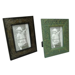 Wooden Gesso Photo Frame for Decoration pictures & photos