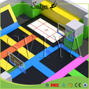 Ce Approved Amusement Equipment Outdoor Gymnastic Trampoline for Sale pictures & photos
