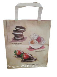 Environment-Friendly Shopping Hand Bag with Handle String (WD002-recycle hand bag) pictures & photos