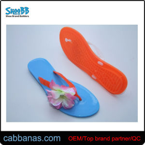 58b7c46d2 China Factory Price Women′s Floral Outdoor Flip Flop Slide Slippers ...