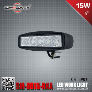 6 Inch 15W LED Work Light for All Kinds of Cars (SM-6015-RXA)