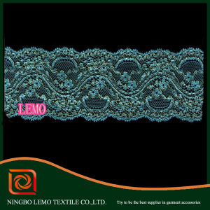 Chemical Lace for Decorative Garment pictures & photos