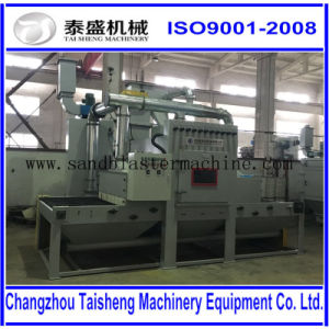 Conveyor belt automatic Sand blasting Equipment/Transmission sandblasting machine