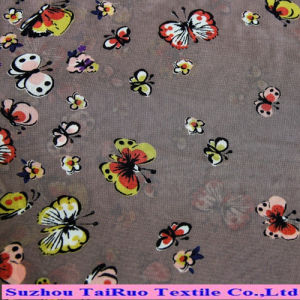 Polyester Printed Chiffon Fabric for Ladies Dress pictures & photos