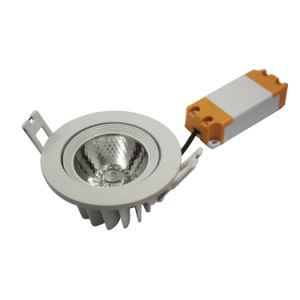 COB 8W LED Recessed Downlight with Best Price (Factory Guaranteed)