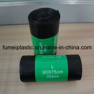 Recycled Black Color Plastic Garbage Bag