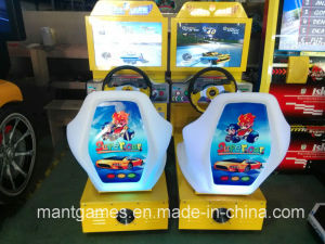 CE Certificate HD Outrun Kid Racing Arcade Game Machine for Sale pictures & photos