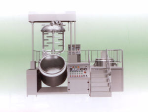 Vacuum Homogenzing Emulsifier with Electric Heating for Cosmetics pictures & photos