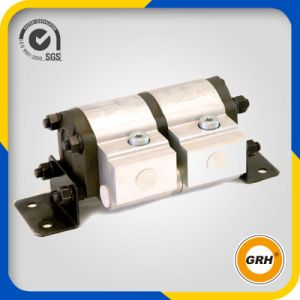 2 Sections Hydraulic Gear Flow Divider Gear Motor pictures & photos