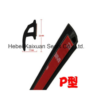 Car Door Rubber Strip with 3m Self-Adhesive Tape pictures & photos