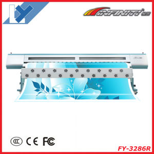 3.2m Digital Solvent Large Format Printer (FY-3286R with 6PCS Seiko Spt508GS Printhead) pictures & photos