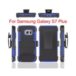 Belt Clip Holster Hybrid/Combo Cover/Case with Holder for Samsung S7