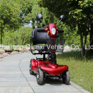 (ST098) 4 Wheel Electric Mobility Elderly Folded Scooter