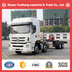 8X4 High Roof Cabin Truck Chassis for Sale pictures & photos