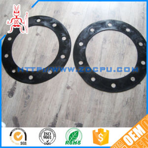 Custom Hardness Car&Truck&Motorcycle Durable Hard Solid Flat Round PU Rubber Gasket pictures & photos
