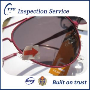 Quality inspection service for sun glasses in China