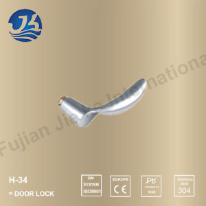 Stainless Steel 304 Simple Design Door Handle Lock (H-34)