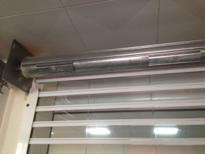 Motorized / Electrically Polycarbonate Rolling Shutter (PC6) pictures & photos
