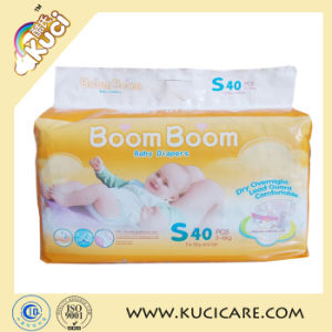 Non-Woven Fabric Ssuper Absorbent Cheap Baby Diaper in Stock