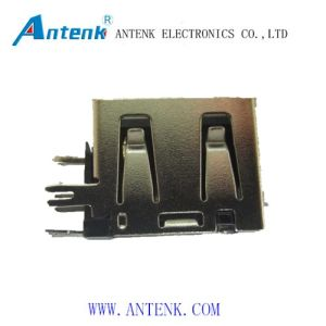 USB a Type Receptacle Angle Short Body pictures & photos