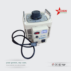 Wosn 220V Single Phase 1kVA Variable Voltage Regulator