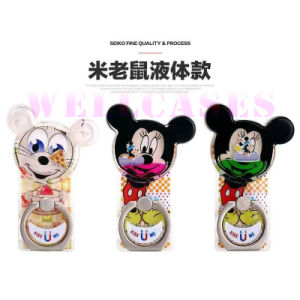 Mobile Phone Accessories Mickey Oil Dripping Ring Holder