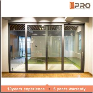 New Products Aluminium Sliding Door Sliding Glass Door With Wire Mesh