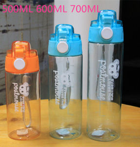 2015 Hot Season 600ml Plastic Sport Water Bottle with Filter