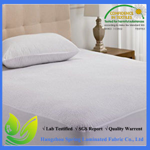Extra Deep Terry Towel Waterproof Fitted Mattress Protector pictures & photos