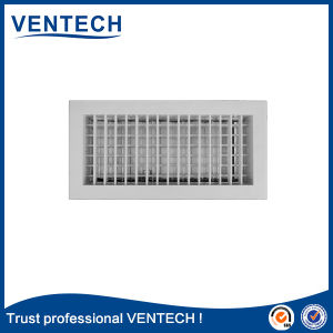 Air Conditioner Aluminum Adjustable Double Deflection Supply Air Grille pictures & photos