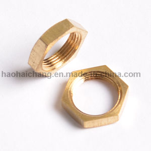 High Tensile Cusotm Made CNC Brass Nut