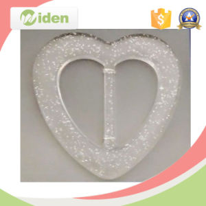 China Designer Clothing Buttons Heart Shaped Natural Belt