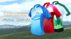 2016 New Kanpas Orienteering Tops, Customizable for Club #OS-O2