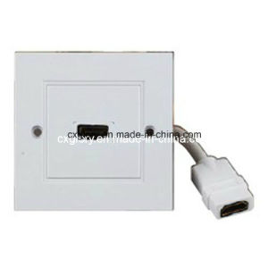 High Quality UK Wall Plate for HDMI pictures & photos