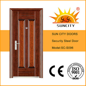 High Quality and Beautiful American Steel Security Doors (SC-S096) pictures & photos