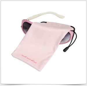 7437adc307f China Soft Double-Side Drawstring Microfiber Eyeglasses Pouch ...